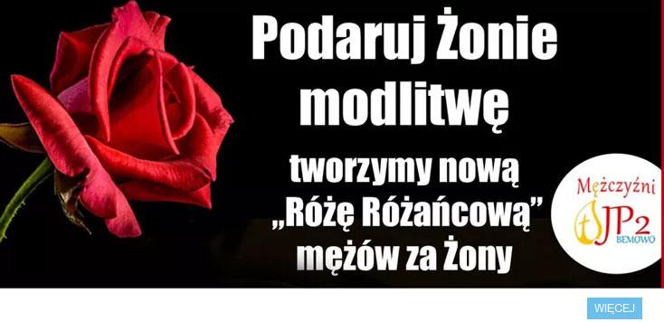 Róża Różańcowa mężów za żony